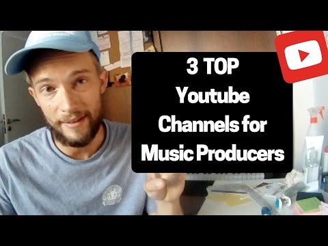 The best Youtube Channels every music producer should follow!!