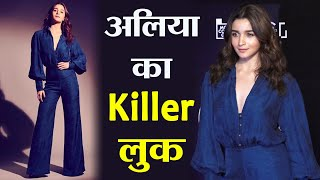 Alia Bhatt looks stunning in Blue dress at Critics Choice Film Awards in Mumbai |Boldsky
