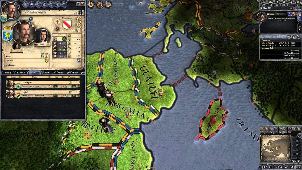 beginner s guide how to become king of ireland part 1 crusader