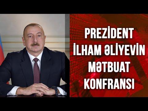 Prezident İlham Əliyevin Mətbuat konfransı (26.02.2021)