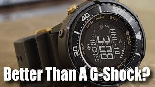 Better Than A G-Shock?! (My Thoughts On The New Seiko Digital Tunas!)