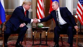 Саммит Путин—Трамп. Хельсинки | 16.07.18