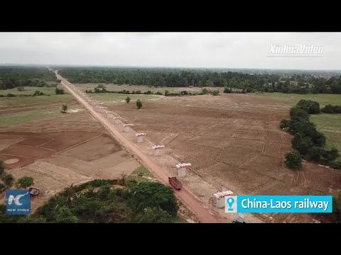 China-Laos railway brings up Lao apprentice to craftsman