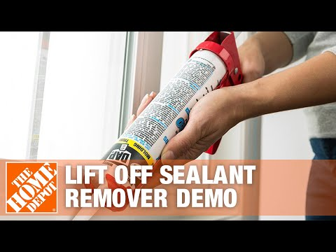 Lift Off Sealant Remover Demo | The Home Depot