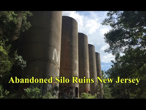 Abandoned Grain Silo Ruins South Toms River New Jersey