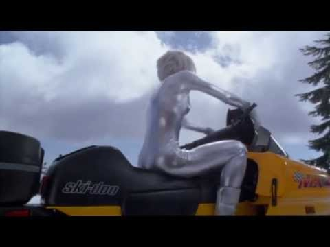 Kelly Lynch in MrMagoo Silver Catsuit