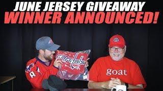 June Jersey Giveaway Winner Announced!