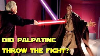 Mace Windu vs. Palpatine - Who REALLY won!?