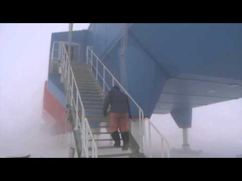 Raw: New British Antarctic Station Revealed