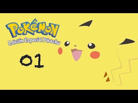 Pokemon Amarillo 01 - Empezamos y truco de pikachu