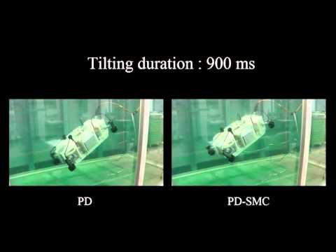 Switching PD-Based Sliding Mode Control for Hovering of a Tilting-Thruster Underwater Robot