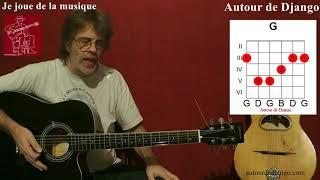 Calogero / Je joue de la musique / tuto guitare débutant