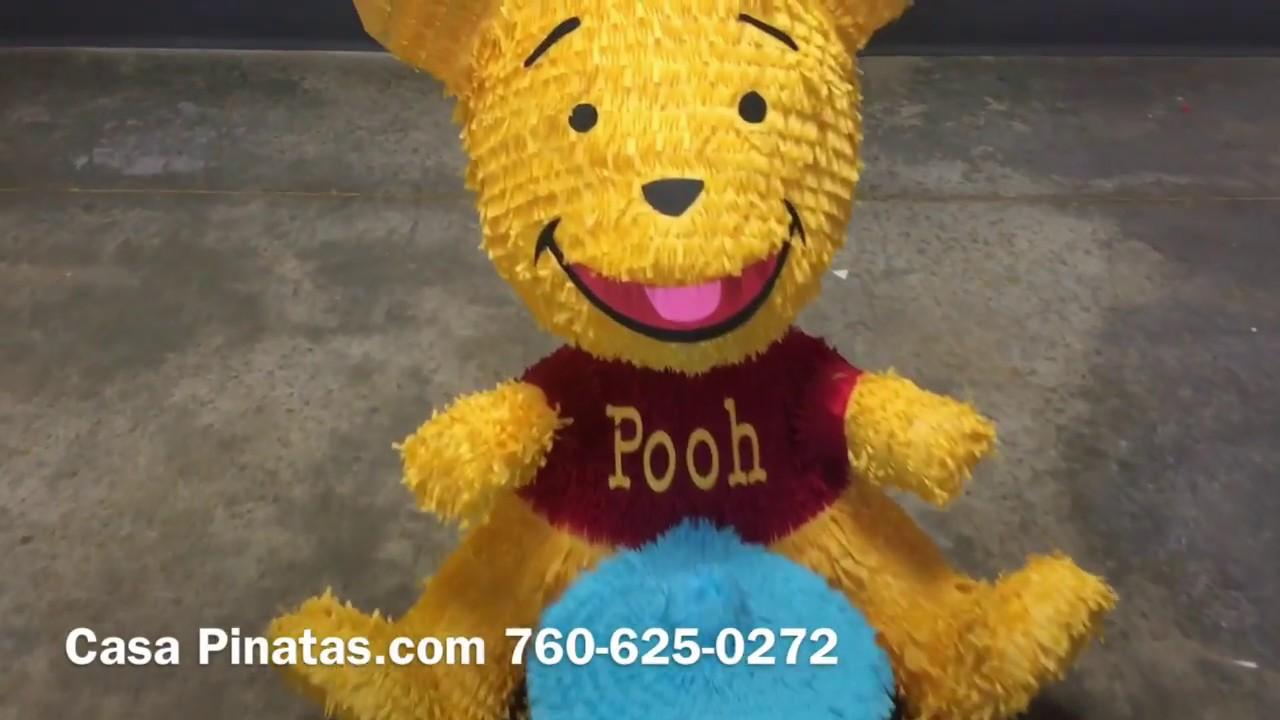 Winnie The Pooh Pinata Birthday pinatas