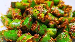 झटपट बनाये चटपटी मसालेदार अचारी हरी मिर्च फ्राई | Instant Achari Hari Mirch Fry recipe in Hindi