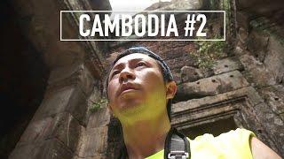 """カンボジア・シェムリアップの旅 #2 / アンコールトム アンコール遺跡群めぐり / """"Angkor Thom"""" Siem Reap Cambodia Travel #2"""
