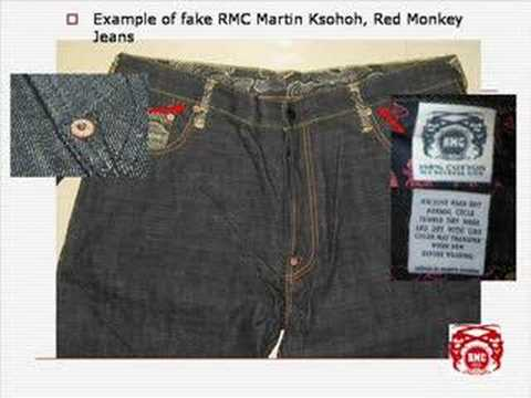 RED MONKEY (RMC RMC Martin Ksohoh) - How to spot the FAKES! www ...