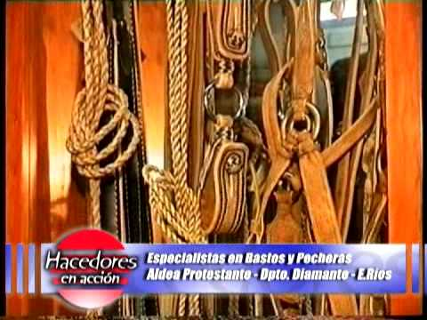 Talabarteria Otto   Mario Herbel Campo en Accion
