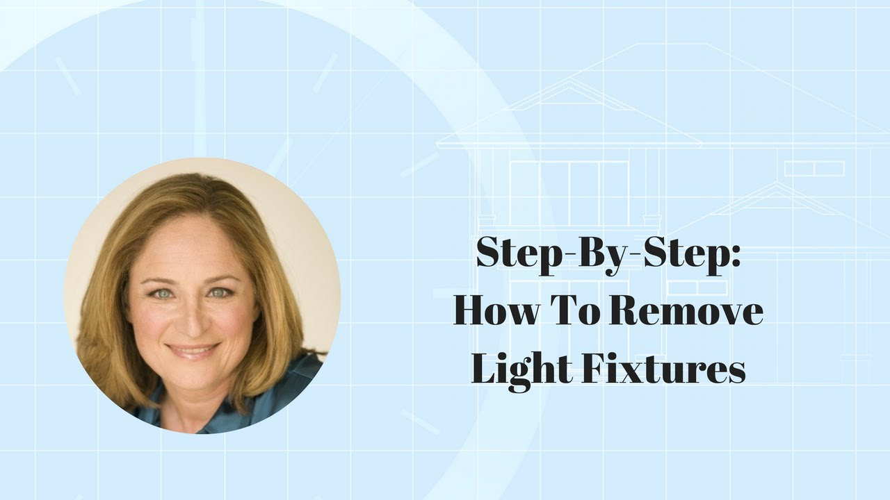 Step by step how to remove light fixtures youtube step by step how to remove light fixtures arubaitofo Images