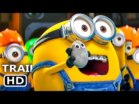 MINIONS THE RISE OF GRU Trailer (NEW 2020) MINIONS 2