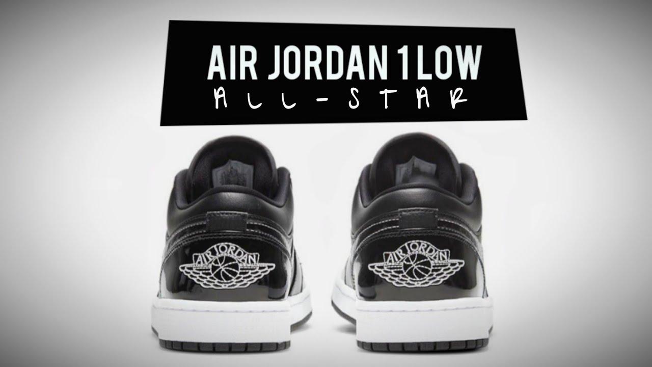 Air Jordan 1 Low 'All Star 2021'