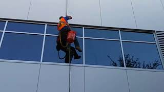Window Cleaning in High Rise | Shining Image of Texas