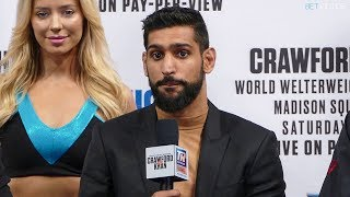 Terence Crawford vs Amir Khan * FULL FINAL PRESS CONFERENCE * NYC