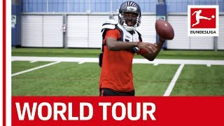 New signings for the Seattle Seahawks? The Eintracht stars and American Football