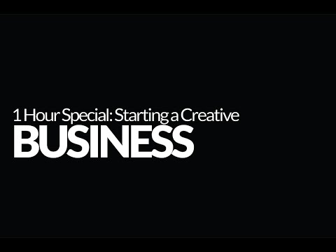 Photography Business Tips: How to Start a Business As a Creative. 1 Hour Special!