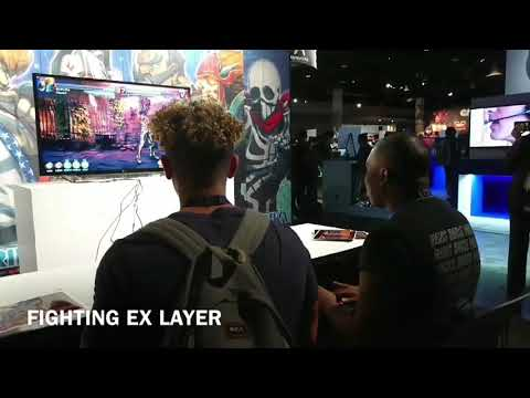 FIGHTING EX LAYER in PlayStation Experience 01