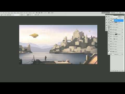 Pene Menn : Concept Art - Harbor Tutorial