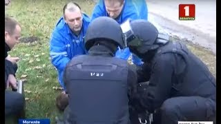 В Могилеве вооруженный мужчина пытался ограбить банк и захватил заложников