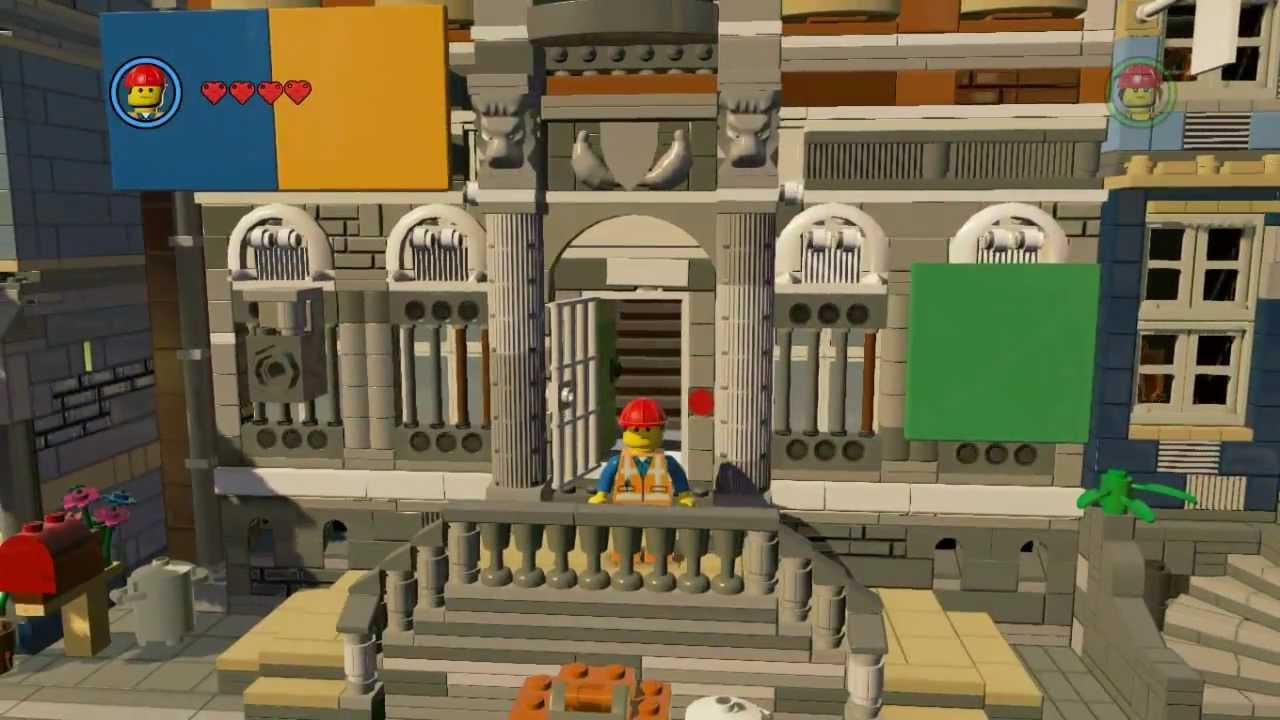 The Lego Movie Video Game Emmet Free Roam Youtube