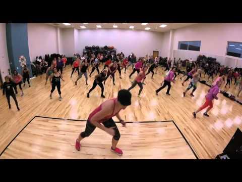 Against The Floor-  Hip Hop Dance Fitness- Warm up