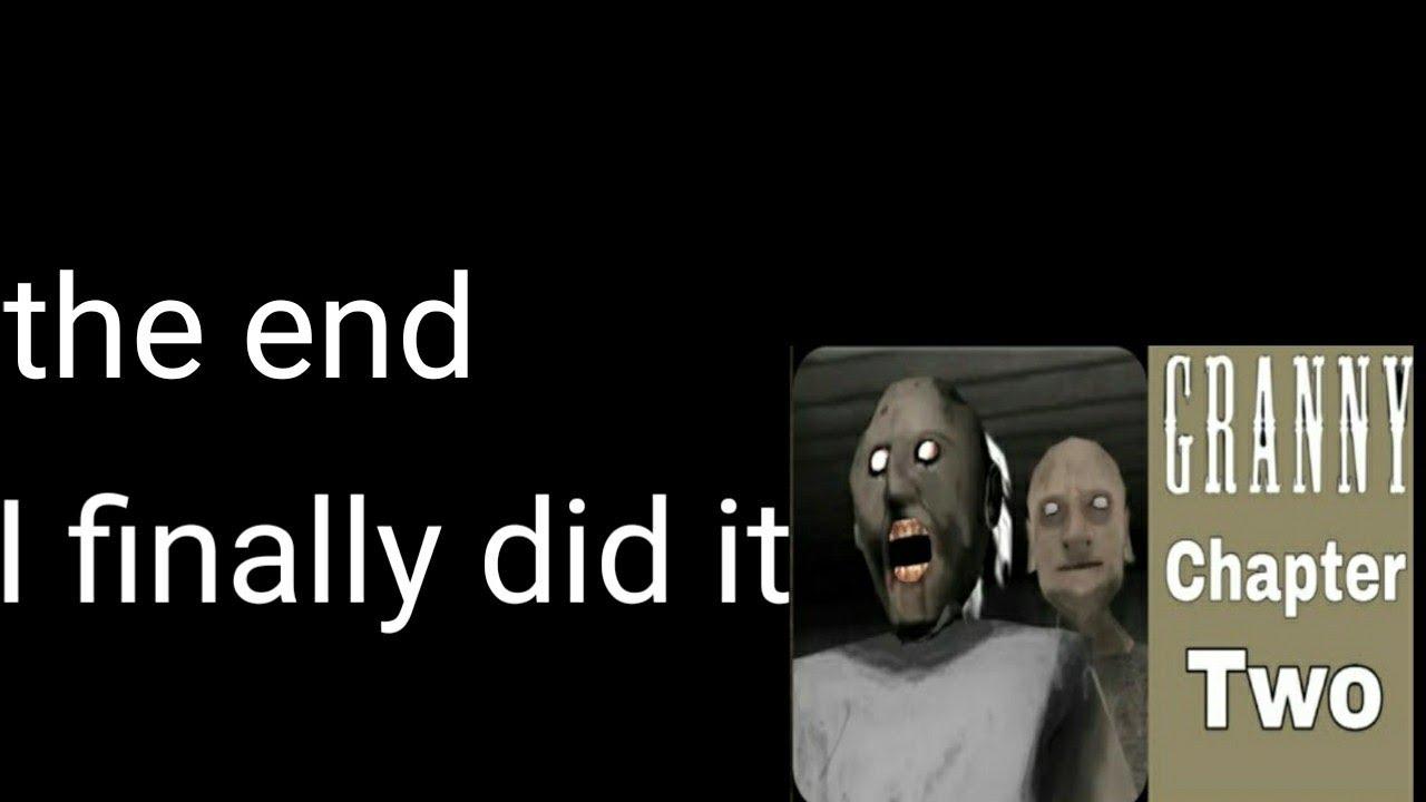 I Finally Beat Granny Chapter 2 Cheat Code Youtube