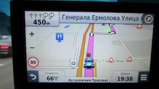 видео Обзор GPS-навигатора GARMIN Nuvi 300