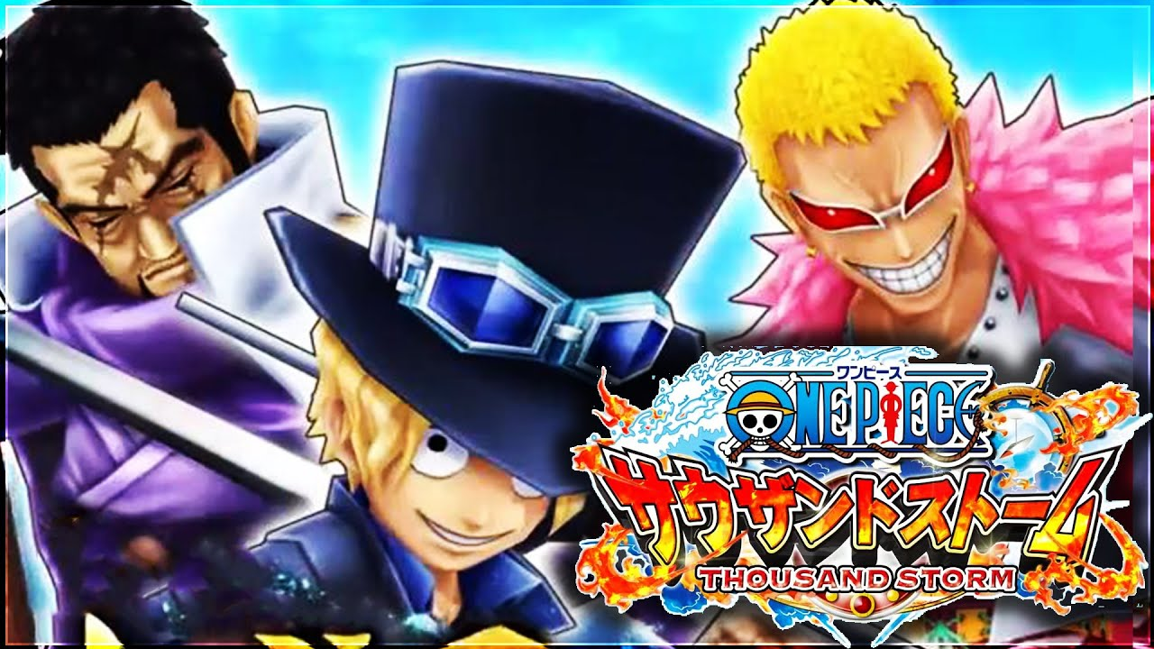 Image result for One Piece Thousand Storm
