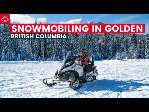 SNOWMOBILING In BRITISH COLUMBIA! Best Things To Do In Golden, BC