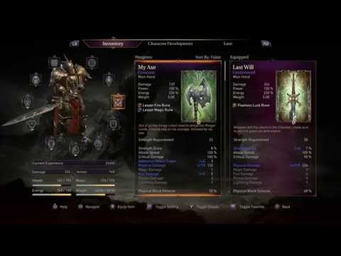 Lords of the Fallen - Unstoppable Warrior Build