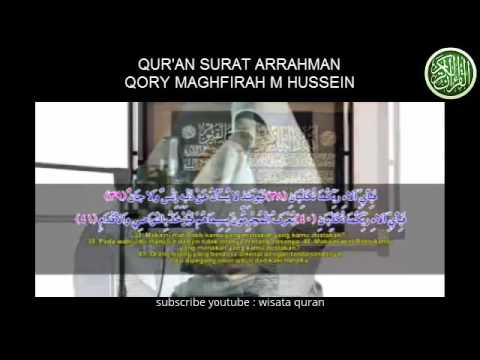 Download Lagu Surah Ar-Rahman Termerdu By Qory Maghfirah M Hussein