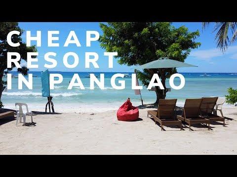 Cheap Resort in Bohol - Panglao Grande Resort Bohol Philippines | Walking Tour