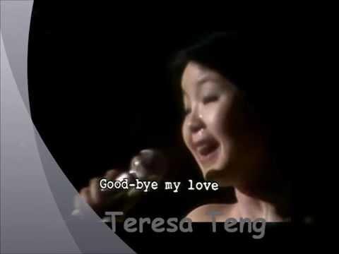 GoodBye My Love- Zai jian wo de ai ren- Learn Chinese Mandarin Fast with Chinese Songs|Teresa Teng