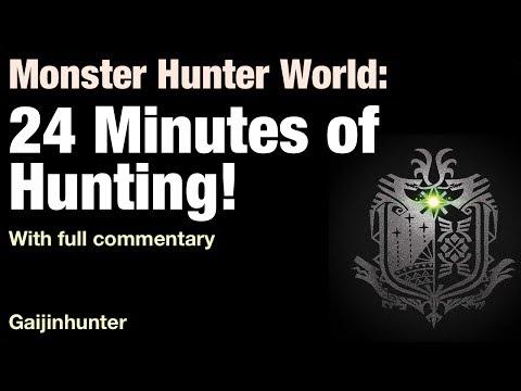 Monster Hunter World: 24 min of Gameplay