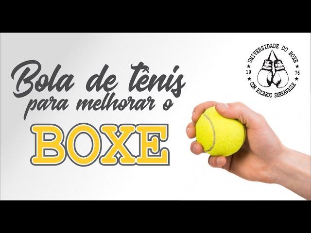 COMO MELHORAR O BOXE TREINANDO COM BOLA DE TÊNIS