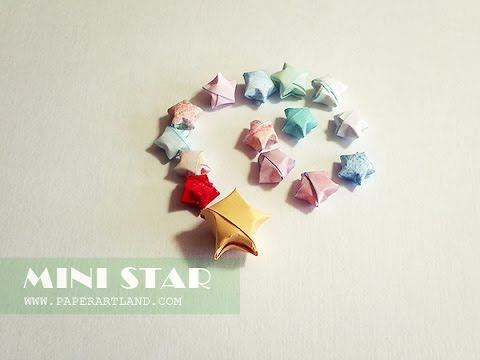 How to Make Lucky Paper Stars - Easy!