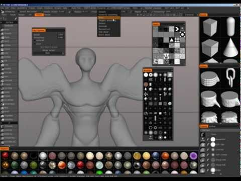 3D Coat - Great Sculpting software for 2D artists looking to transition into 3D