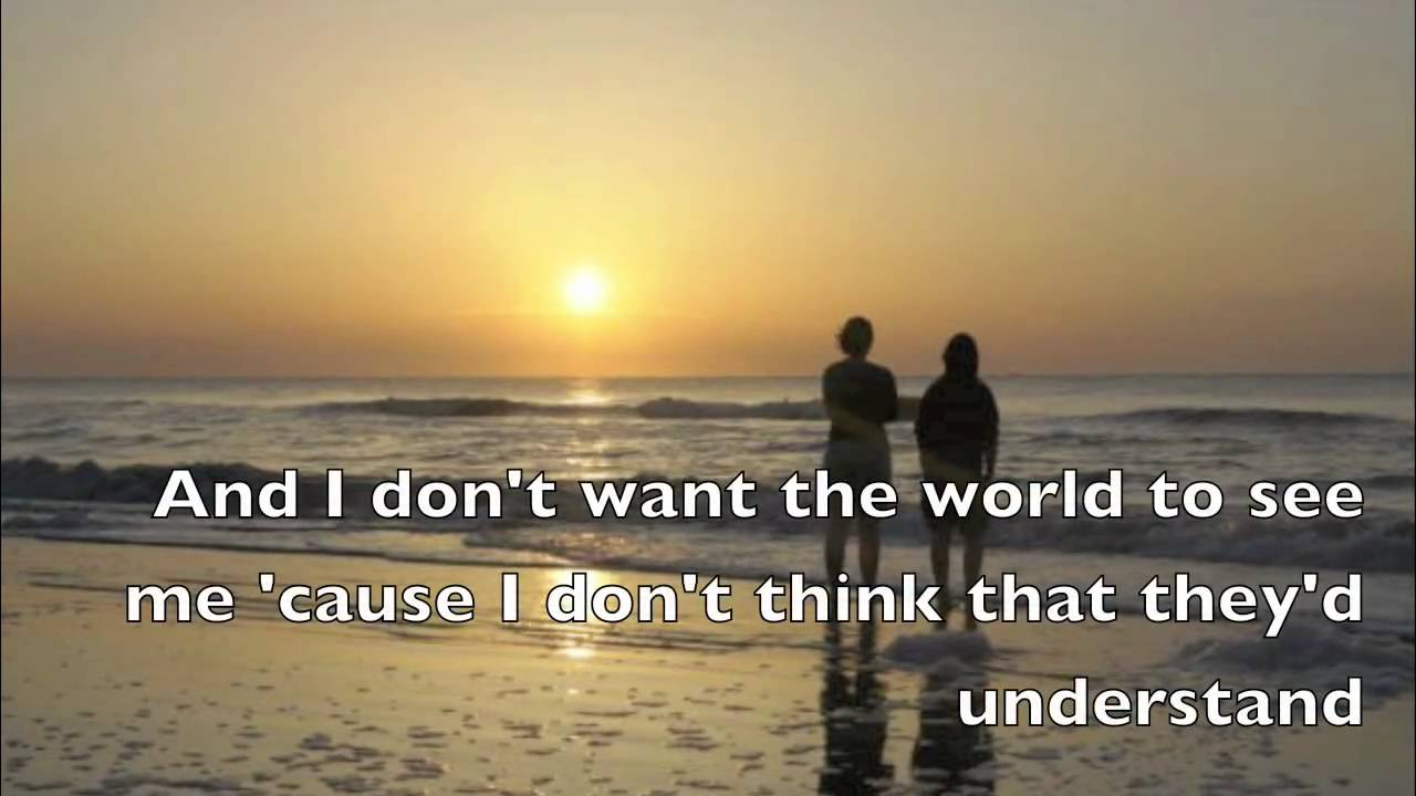 Iris Goo Goo Dolls Lyrics Youtube