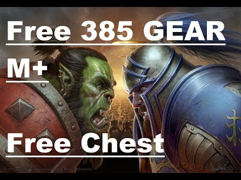 BFA M+ Chest Gave 385 Loot!