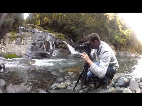Ben Treverton landscape photographer in action