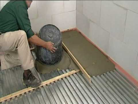 beamix lichtgewicht beton op lewis zwaluwstaartplaten - reppel, Badkamer