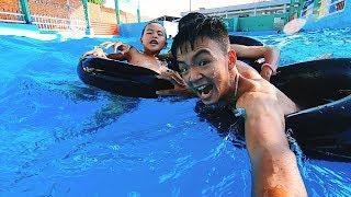 Đi Tắm Bể Bơi Cuối Tuần Cực Mát